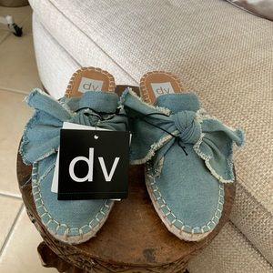 dv woman Mules size 6 1/2 new with tags